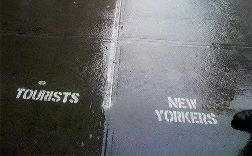 Brilliant New York 'Tourist Lane' Was Improv Everywhere Prank