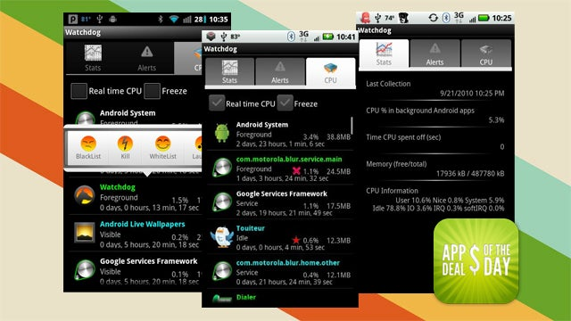 Daily App Deals: Manage Your Android Apps with Watchdog Task Manager, Now Free
