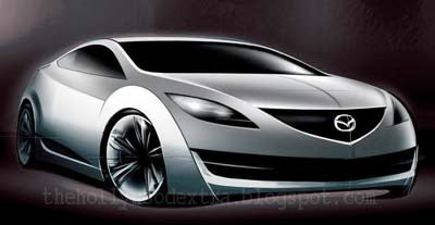 Mazda 6 Coupe Sketch Emerges, Confuses