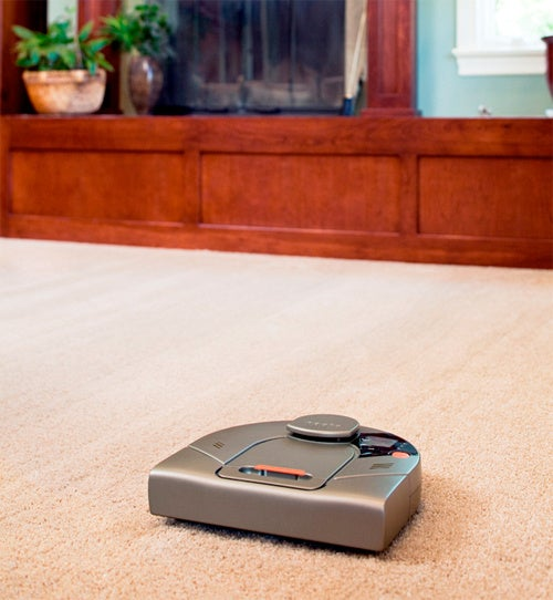 Robot Vacuum Cleaner. With Lasers. Robots. Lasers. Cleaning. Awesome.