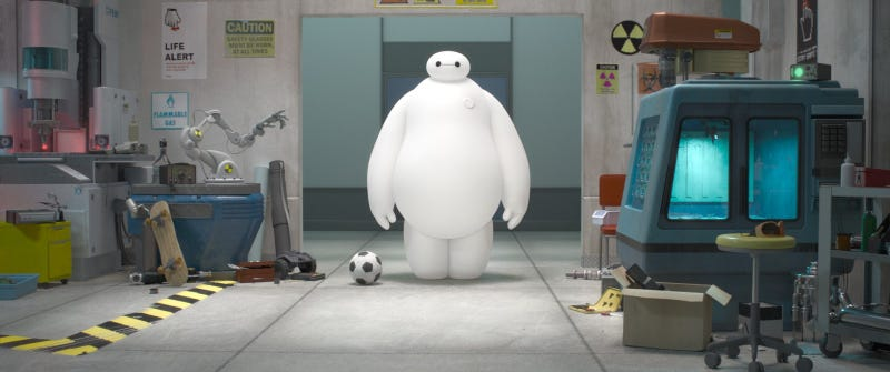 The First Pics From Disney's First Marvel Movie, Big Hero 6