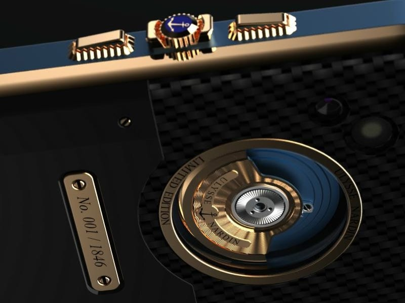 Watchmaker Ulysse Nardin Creates Smartphone Juiced Up by Kinetic Energy