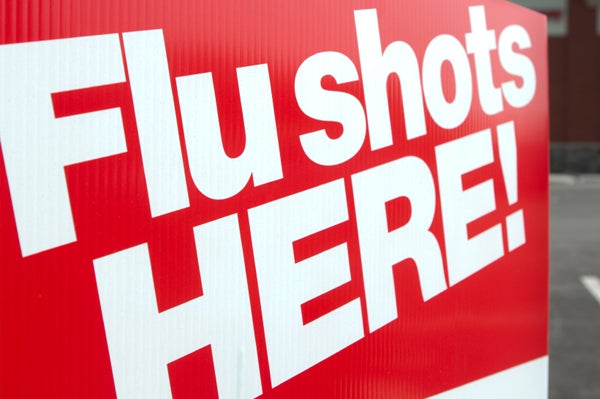 Don't forget to get your flu shot!