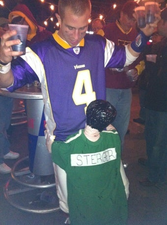 Despite Chris From Austin's Victory, People Still Sent Favre/Sterger Costume Pictures All Week