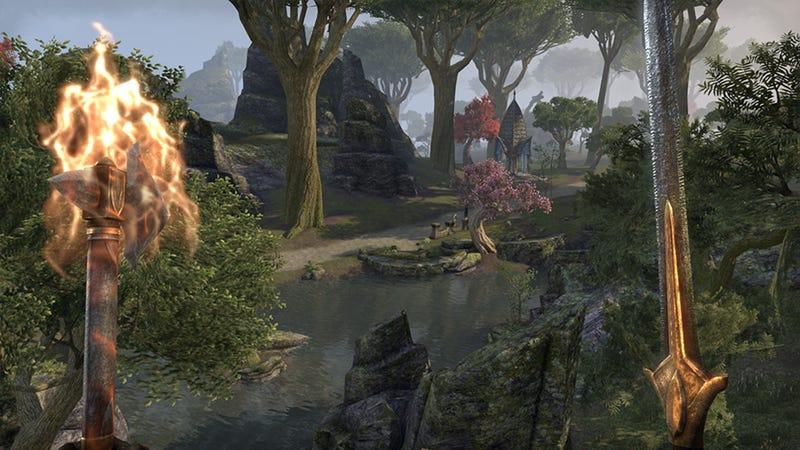 Elder Scrolls Online MMO Log: The World Is My Cat Box