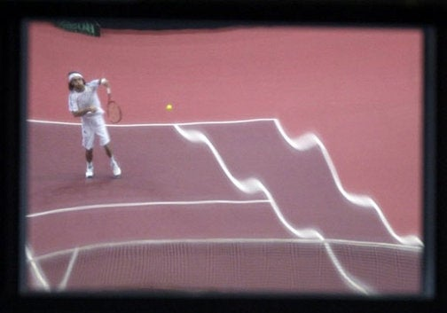 Actually, All Tennis Looks Like This On A Sunday Morning