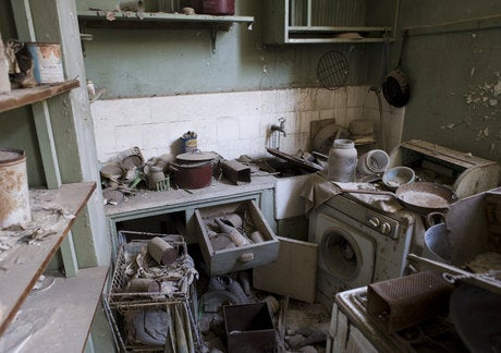 A ghost town in Cyprus, untouched by humans for 37 years