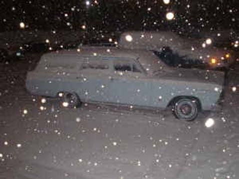 Neither Sleet, Nor Snow, Nor Gloom of Night Shall Stay This Fairlane From Its Appointed Sale!