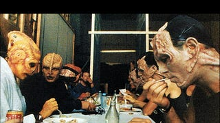 Lunch at the Set of Deep Space9