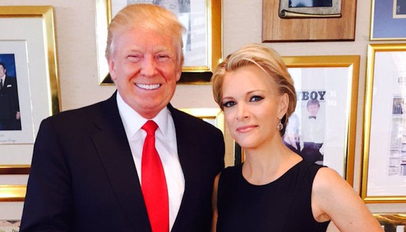 Why Is Donald Trump Pretending He Doesn't Know What's Going to Happen in This Pretaped Megyn Kelly Interview?