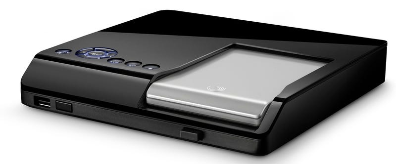 Seagate's FreeAgent Theater HD Media Player Is a Set-Top Dock for Hard Drives