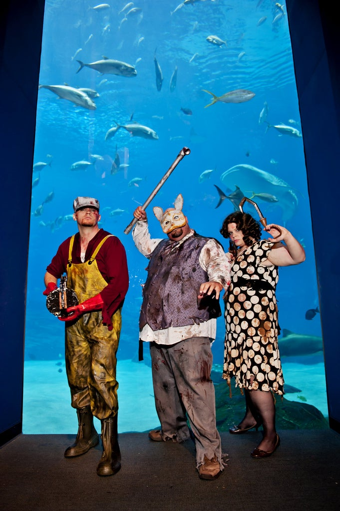 It Was A Very BioShock Night at the Aquarium