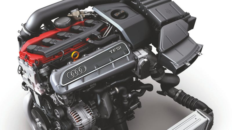 Audi's 2.5 TFSI Is Five Cylinders Of Awesome