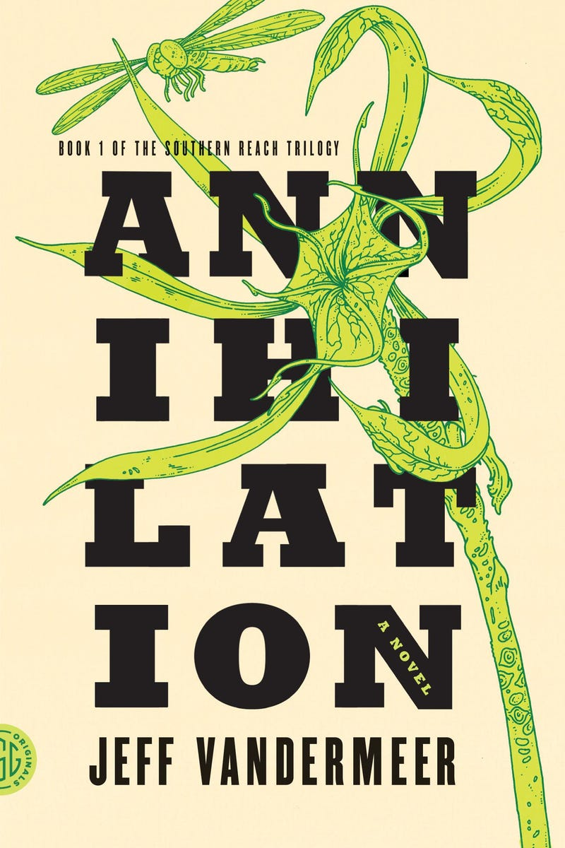 Read the mesmerizing first chapter of Jeff VanderMeer's Annihilation