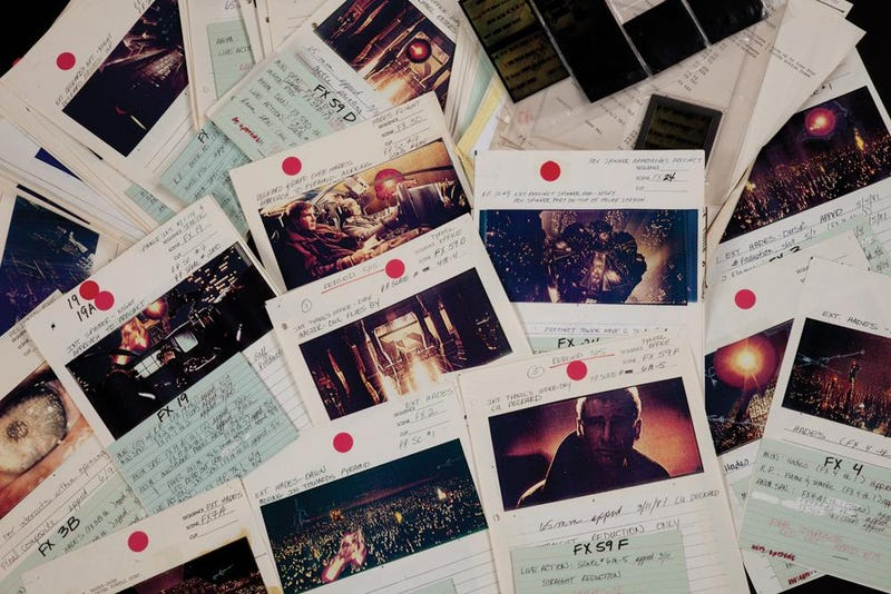 Lost Blade Runner storyboards will let you see things you wouldn't believe