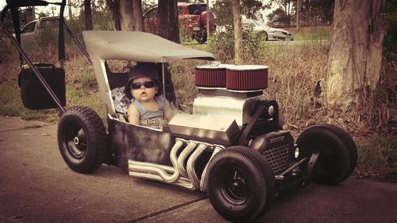 I found a picture of CalzoneGolem as a toddler