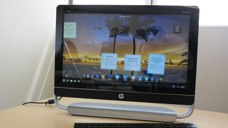 HP's Ivy Bridge-Equipped Envy 23 Offers Premium Style With a Smaller Price