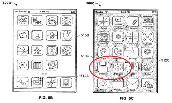 Shot of Jailbroken iPhone Sneaks Into Apple Patent Application