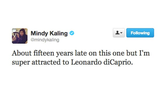 Mindy Kaling Finally Gets Caught Up in Leo Mania