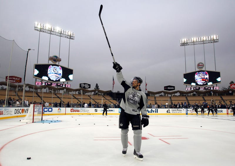 Outdoor Hockey In Los Angeles Made For Some Awesome Photos