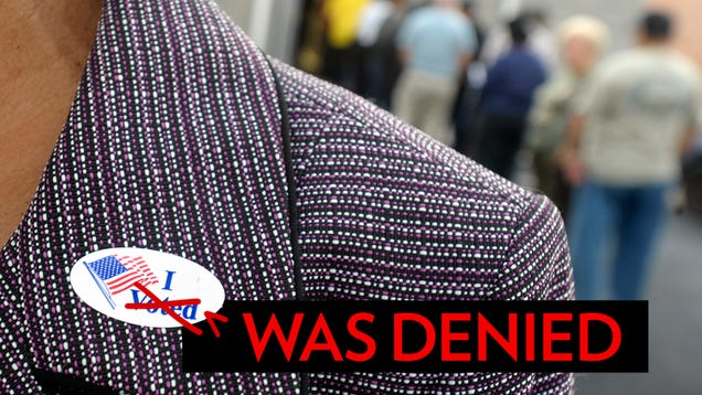 voter id laws essay example Texas' voter identification law violates the us law prohibiting racial  a few  examples show that the district court relied on concrete evidence.