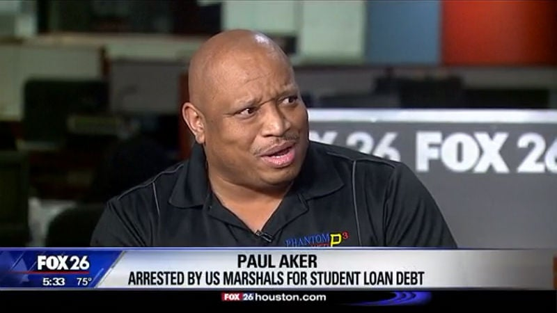 Man arrested by US Marshals for 29 year-old unpaid student loan
