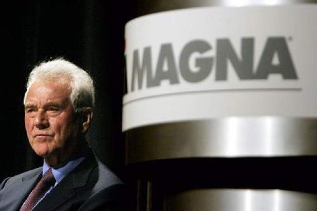 REPORT: Frank Stronach loses chairmanshipping of Magna