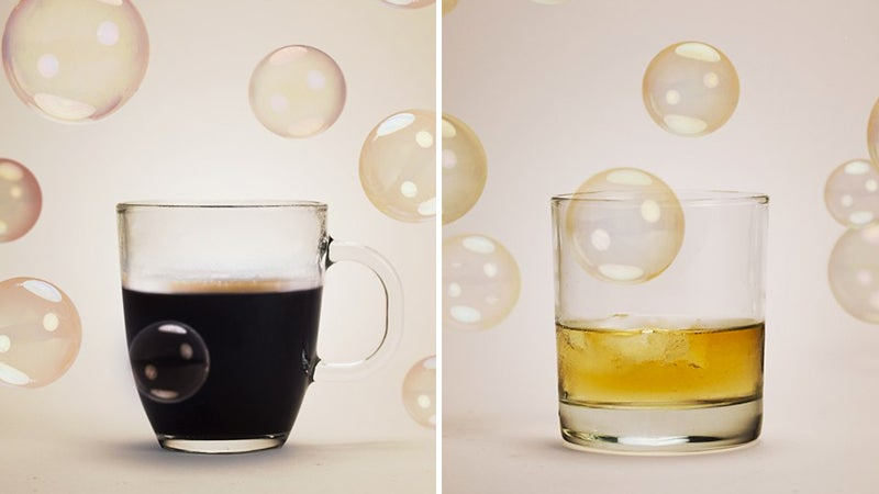Cleverly Smuggle Booze By Turning it Into Edible Bubbles