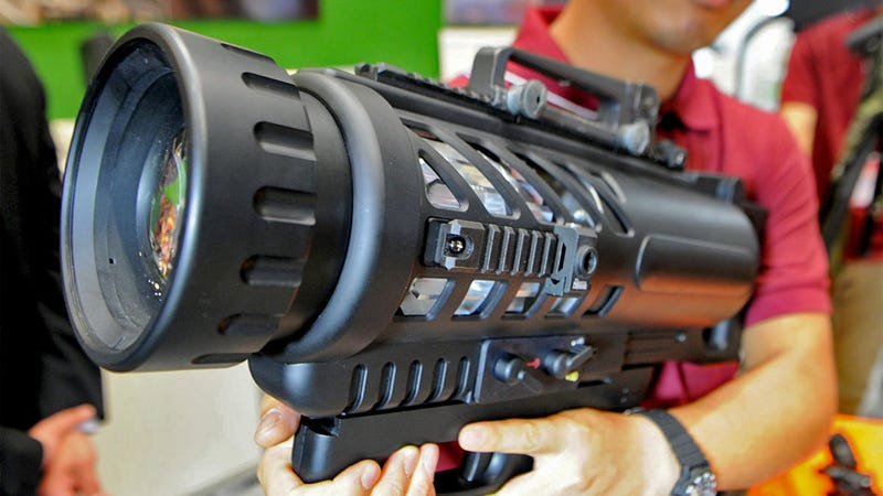 Flashlight Bazooka Blasts Your Target With Blinding Light