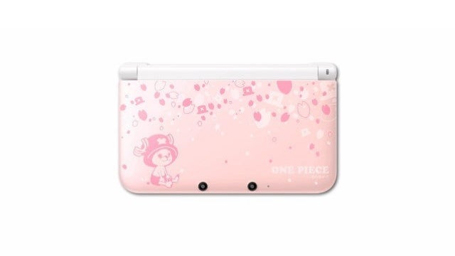 First Look at the Special One Piece 3DS XL Handhelds
