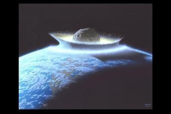 Things Could Be Worse: Asteroids That Almost Killed the Earth