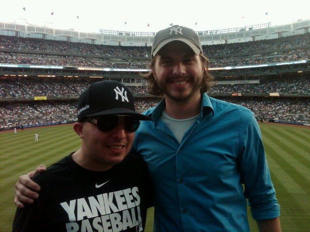 This Is What It's Like To Sit Near Big Yankees Fan Michael LaPayower In The Bronx