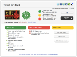 ScripSmart Remembers Your Gift Card Expirations (So You Don't Have To)