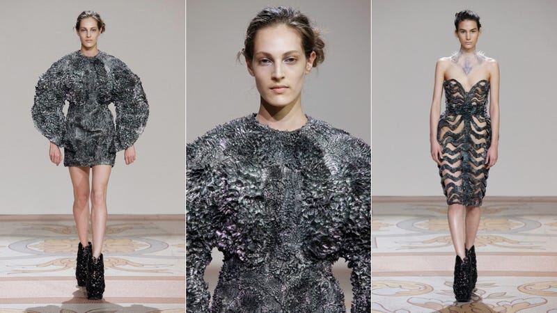 These Beautiful Dresses Were Made Using Magnets