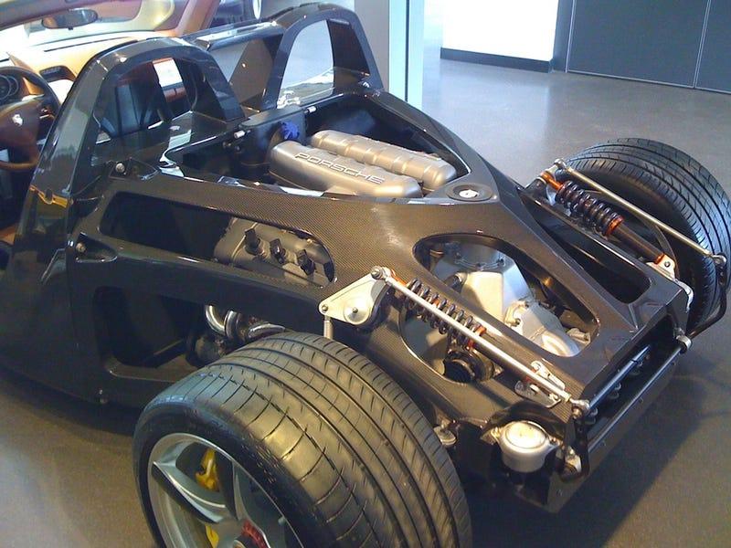 Naked Porsche Carrera GT