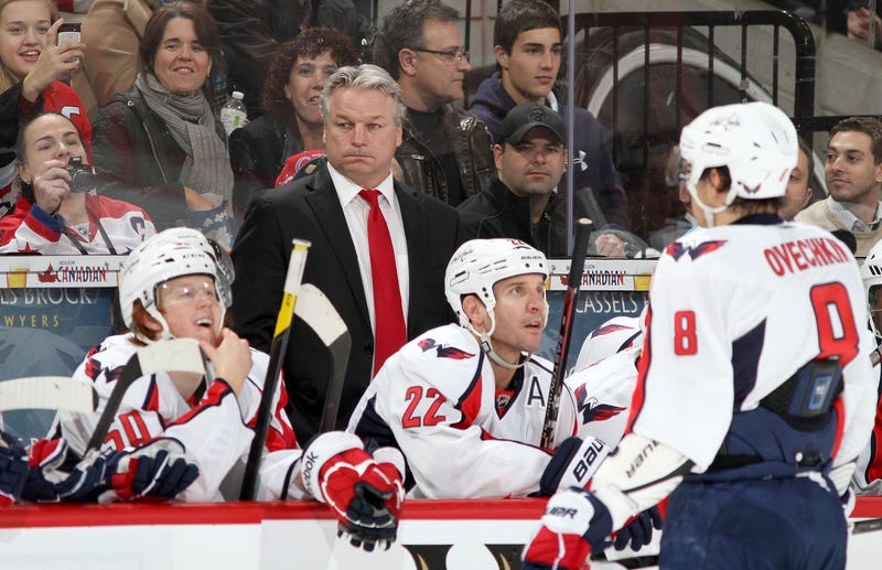 The Capitals Are A Team Without A Coach Or A Plan