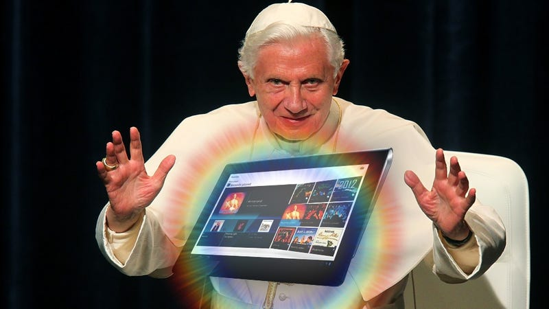 The Pope Has Chosen Android