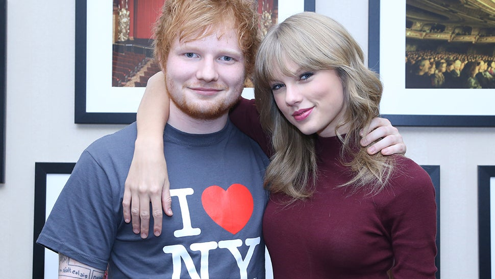 Taylor Swift Made Ed Sheeran a Drake-Themed Needlepoint