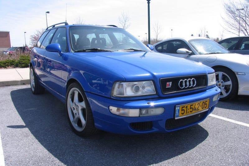 PA-plated Audi RS2 Avant