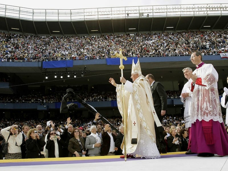 Who Hit The Most Home Runs During Each Pope's Reign Since 1876?