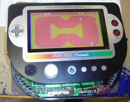 Ben Heck Mods Atari 7800 into Portable Retro-Gaming Wonder