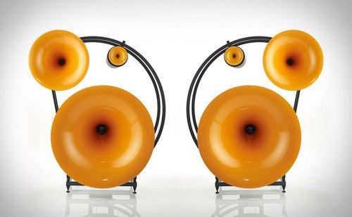 These Speakers Look Like Gigantic Golden Ears