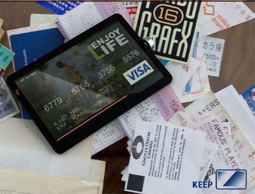 What Would Happen To Wallet Bulge If This All-In-One Credit Card Were Real?