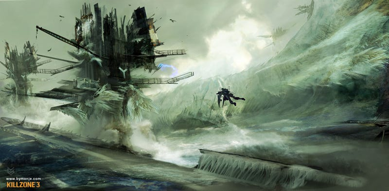 The Colourful, Robotic Art of Killzone 3
