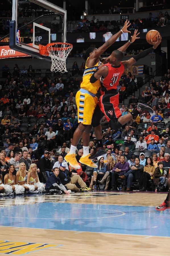 Terrence Ross, In The Pepsi Center, With The Authority