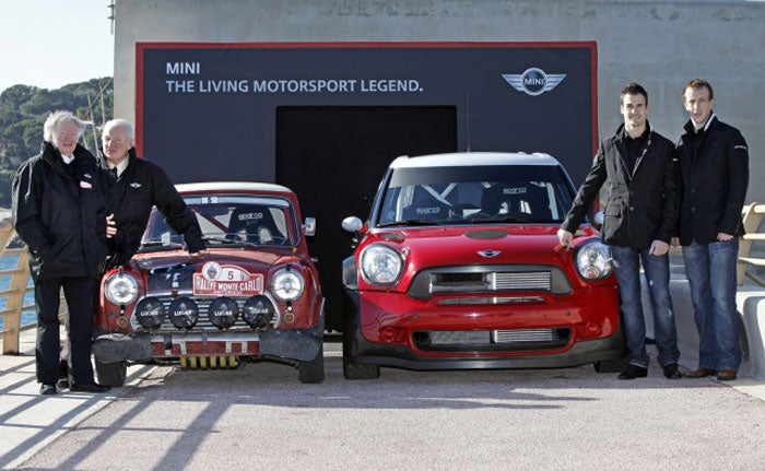 The new Mini WRC is a giant monster