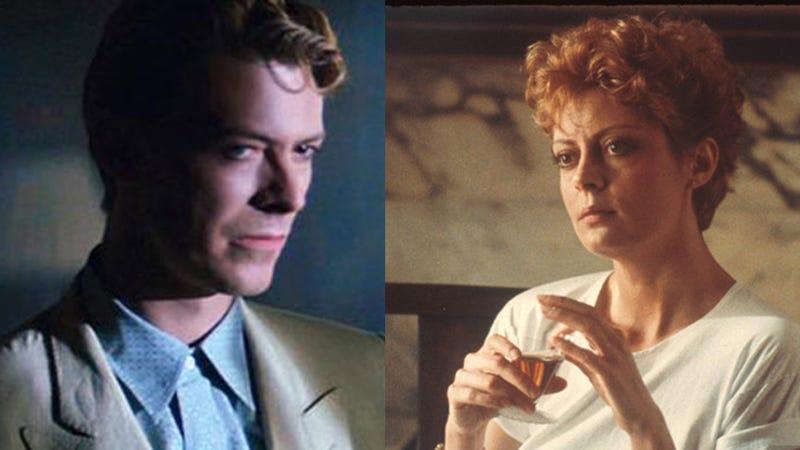 Susan Sarandon and David Bowie Once Had a Freaky Deaky Love Affair