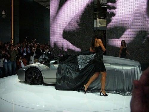 Lamborghini Reventón Roadster: Live Photos