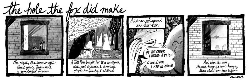 A New Webcomic Short Story By A Master Of Fairytale Horror