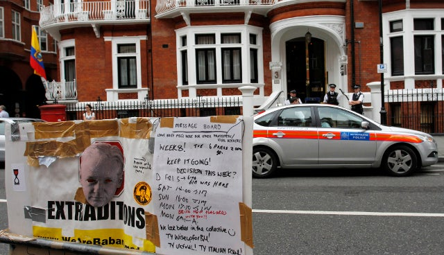 Ecuador Grants Julian Assange Political Asylum